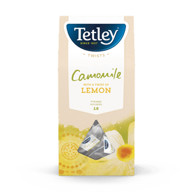 Camomile with a hint of Lemon