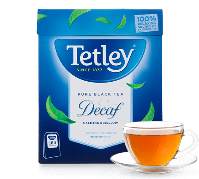 Tetley Decaffeinated Black Tea