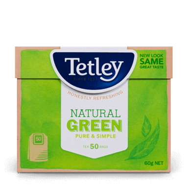 Tetley Natural Green Tea