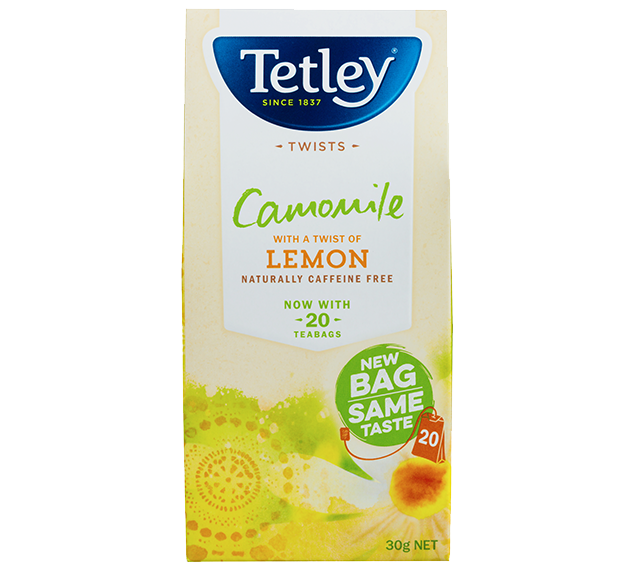 Camomile Tea With A Hint Of Lemon Hero Image