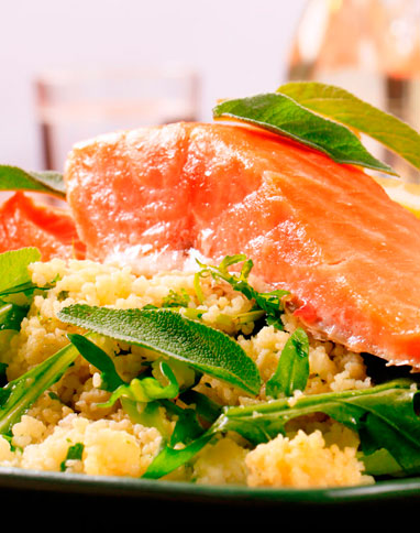 Salmon with Fragrant Couscous_listing