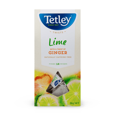 Lime with a twist of Ginger